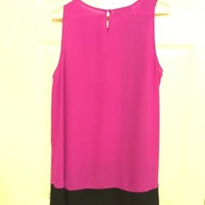 INC sleeveless blouse